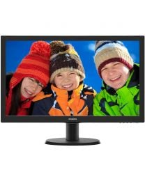Philips 243V5QHABA 23.6-inch Full HD LED Monitor