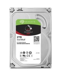 Seagate IronWolf 2TB 3.5-inch NAS Hard Drive (ST2000VN004)