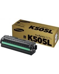 Genuine Samsung CLT-K505L Black Toner Cartridge (SU169A)