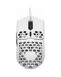 CoolerMaster MasterMouse  MM710 Ultra Light  Gaming Mouse (MM-710-WWOL2), Gloss White