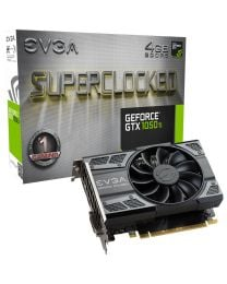 EVGA nVidia GeForce GTX 1050Ti 4GB DDR5 Gaming Graphics Card (N1050TI-4GB-6251)