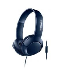 Philips SHL3075 BASS+ Headphones with Mic - Blue