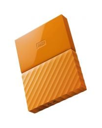 WD My Passport Portable 1TB 2.5-inch Hard Drive - Orange